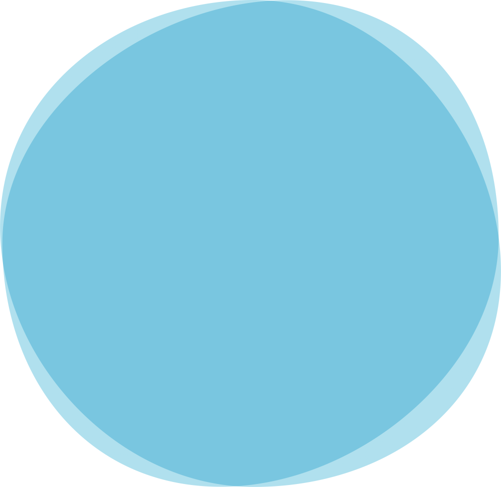 Rond bleu